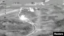 Un convoi al grupării Statul Islamic în Irak distrus de aviația occidentală