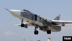 Российский истребитель Су-24. Иллюстративное фото.