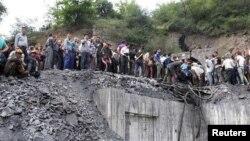 Gülüstan vilayətindəki Zemestanyurd kömür mədəni, 3 may, 2017