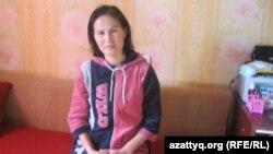 Гульжан Султанова, жительница города Алматы. Алматы, 22 декабря 2012 года.