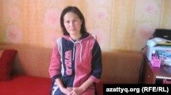 Алматы қаласының тұрғыны Гүлжан Сұлтанова. Алматы, 22 желтоқсан 2012 жыл.