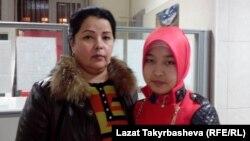 Гульсара Тохтахунова и ее дочь Муштарибо.