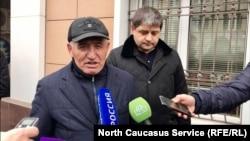 Адвокаты Мусаева Сулейман Азуев и Султан Калаев
