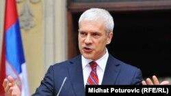 Presidenti i Serbisë Boris Tadiq, në vizitën e tij në Sarajevë