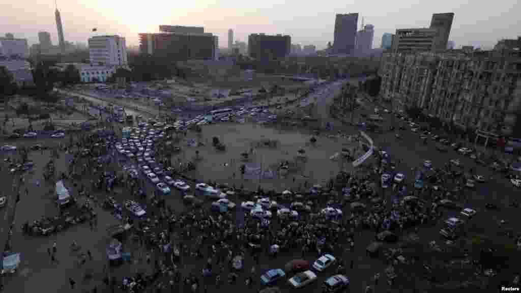Площадь Тахрир в Каире, 15 июня