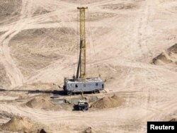 Тайқоңырдағы уран өндіру кеніші. 5 маусым 2010 жыл.