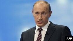 Ресей бас министрі Владимир Путин.