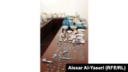 Иракские артефакты, незаконный вывоз которых из страны был предотвращен сотрудниками иракских служб безопасности, 2013 год
