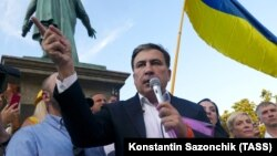 Mikheil Saakashvili vətəndaşlığı bərpa olunduqdan sonra, ötən ilin iyulunda Odessaya səfər etmişdi