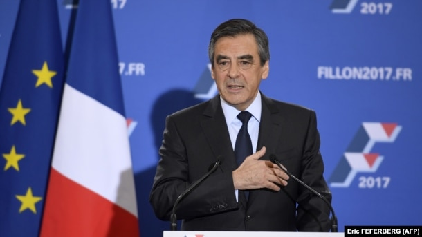 Франсуа Фийон после победы в праймериз