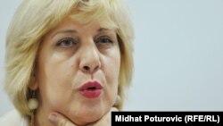 Дуня Миятович, представитель ОБСЕ по вопросам свободы прессы.