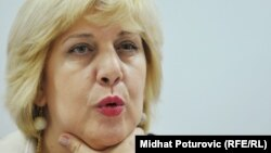 Dunja Mijatovic, the OSCE's representative on freedom of the media