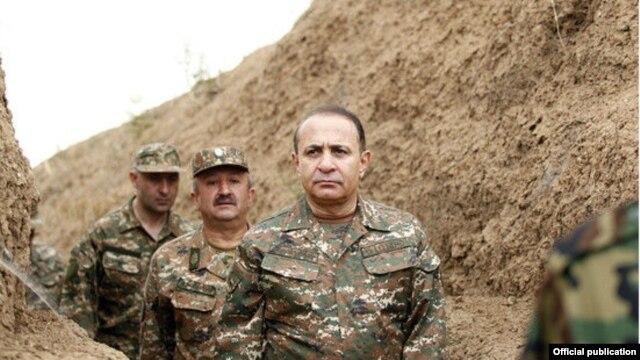 "Nagorno Karabakh - Armenian Prime Minister Hovik Abrahamian visits the Armenian-Azerbaijani ""line of contact,"" 25Jun2014"