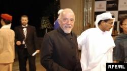 پائولو کوئلیو در چهارمین جشنواره بینالمللی فیلم دبی، ۹ دسامبر ۲۰۰۷.