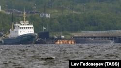 """БС-136 """"Оренбург"""", атомная подводная лодка-носитель аппарата """"Лошарик"""""""