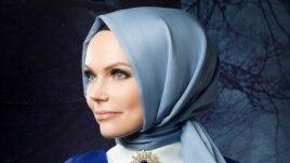 Әмина Федоренко, қазақстандық мұсылман сән үлгісінің дизайнері.