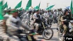 Forcat Basij në Teheran, 3 shtator