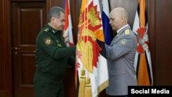 Сергей Шойгу и Игорь Коробов