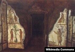 Müqəddəs Marçellino və Pietro sərdabəsi