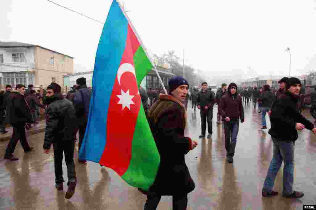 Protest Violence Erupts In Azerbaijan #18