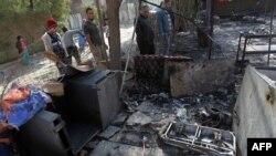 Місце вибуху в Багдаді, 27 січня 2012 року