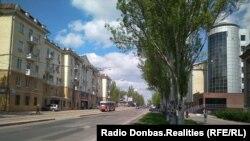 Донецк, апрель 2018 года
