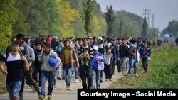 Migranți la frontiera austriacă