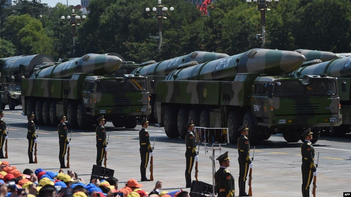 Китай может готовиться к ударам по военным базам США – Пентагон