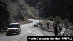 Транскавказская магистраль (архивное фото)
