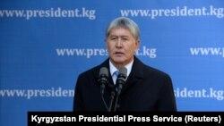 Алмазбек Атамбаев. 15 октября 2017 года.