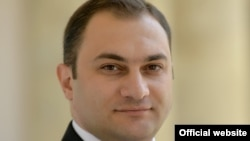 Armenia- Vladimir Hakobian, the newly appointed presidential press secretary.