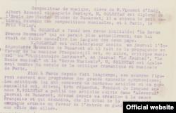 Expunere de motive în dosarul Legiunii de Onoare (Foto: Archives Nationales de France)