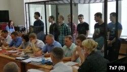 """Обвиняемые по делу """"Сети"""" в суде"""