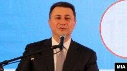 Македонскиот премиер Никола Груевски.