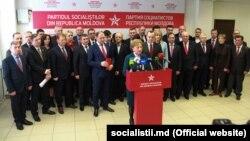 Deputații socialiști din noul Parlament, 5 martie 2019