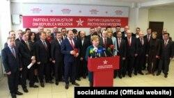 Cei 35 de deputaţi socialiști. 5 martie 2019