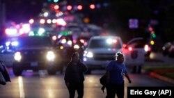 Людей евакуюють після чергового вибуху в Остіні, штат Техас, США, 20 березня 2018 року
