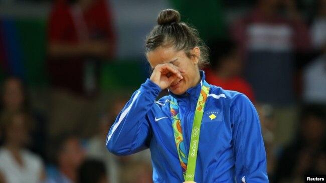 Fitorja e xhudistes Majlinda Kelmendi në Lojërat Olimpike në Rio