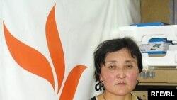 Рақыжан Зейноллаұлының әйелі Фарида Қабылбекқызы. Алматы, 12 қаңтар,2009 жыл.