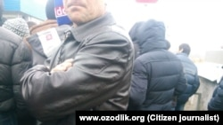 Узбекские мигранты на автомобильном пункте пропуска «Погар».