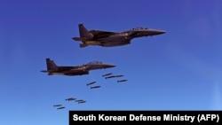 Военные учения в Южной Корее. 31 августа 2017 года.
