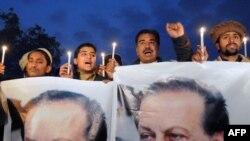 პაკისტანის ქალაქი ფეშავარი: არასამთავრობო ორგანიზაციების თანამშრომლები პროტესტს გამოთქვამენ პენჯაბის გუბერნატორის, სალმან ტასირის მკვლელობის გამო