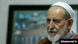 Mohammad Yazdi, a senior conservative cleric who served as the head of Iran's Assembly of Experts. File photo