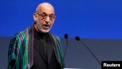 """The New York Times"" reports that Afghan President Hamid Karzai (pictured) has requested a personal letter from U.S. President Barack Obama acknowledging U.S. mistakes in Afghanistan."