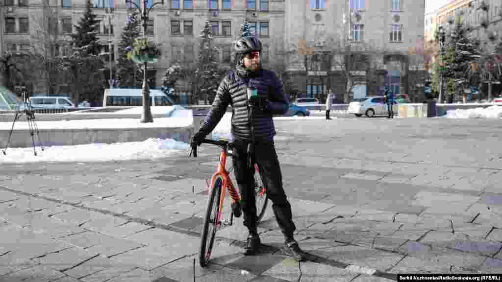 Сайт winterbiketoworkday.org в режимі онлайнпоказуєінтерактивну карту на мапі світу із «найбільш велосипедним» містом взимку