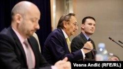 Fiskalni savet Srbije tokom konferencije za medije u Narodnoj banci Srbije