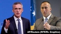 Jens Stoltenberg i Ramuš Haradinaj