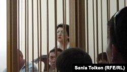 Наталья Соколова сот залында. Ақтау қаласы, 28 шілде 2011 жыл.
