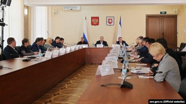 Заседание штаба по предотвращению распространения коронавируса в Крыму, 3 апреля 2020 года