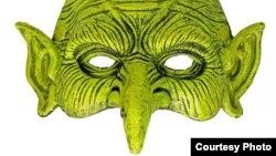 Полумаска зеленой ведьмы